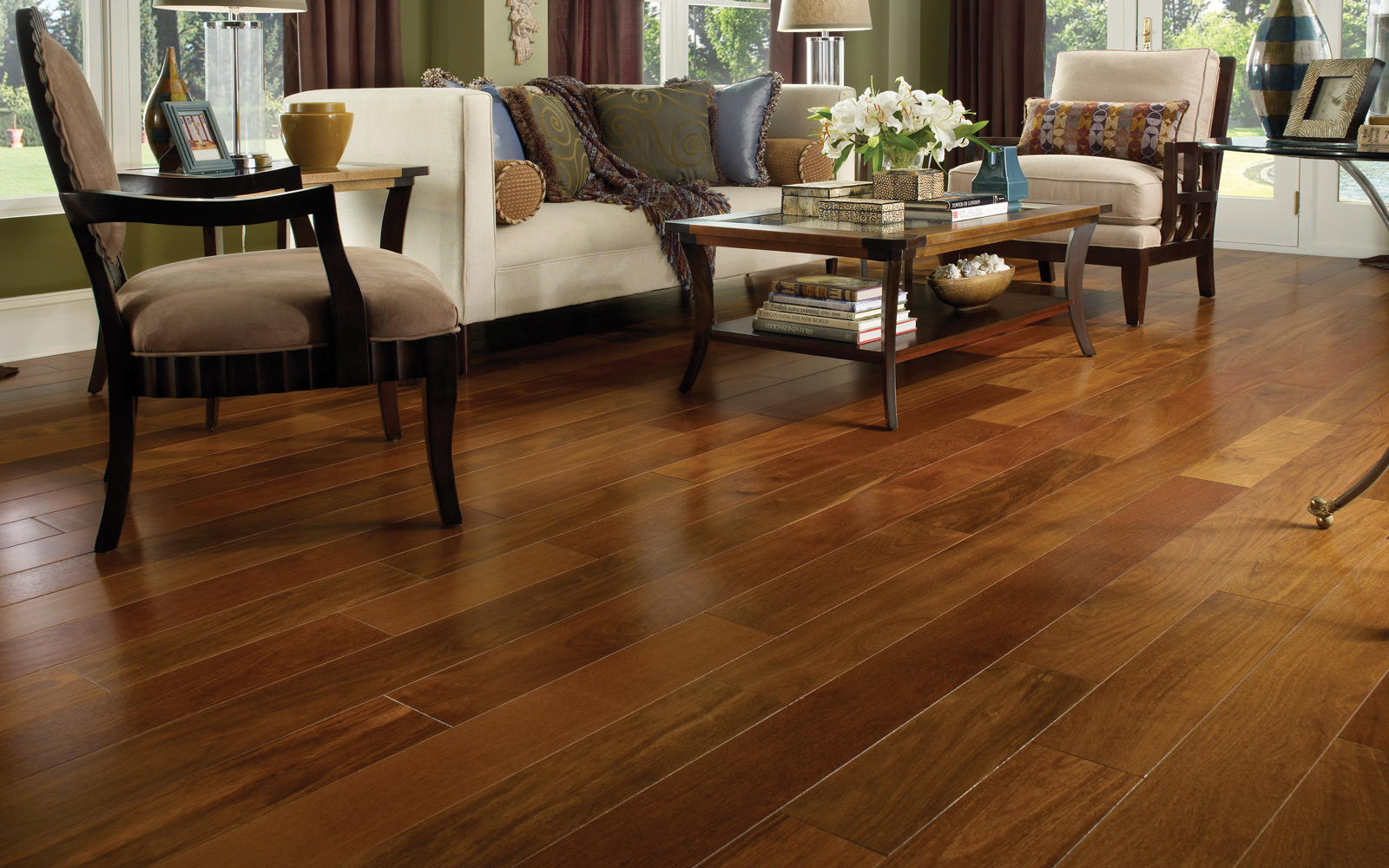 Wood Floors- Kellogg Design Center